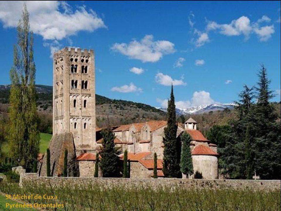 St Michel de Cuxa Pyrénées Orientales