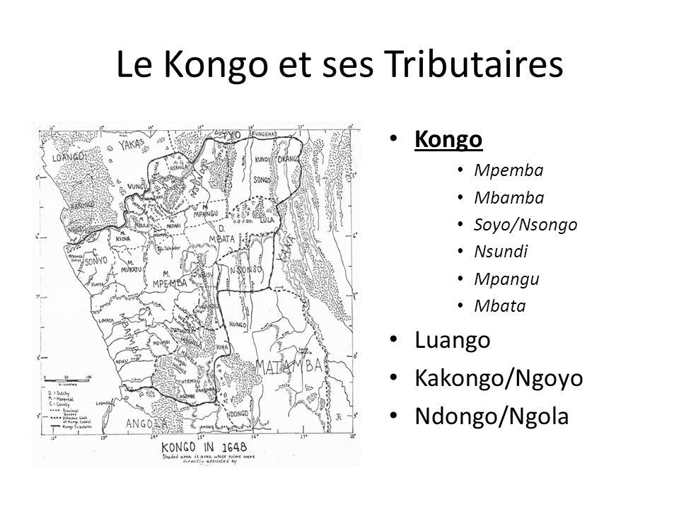 Le Kongo et ses Tributaires