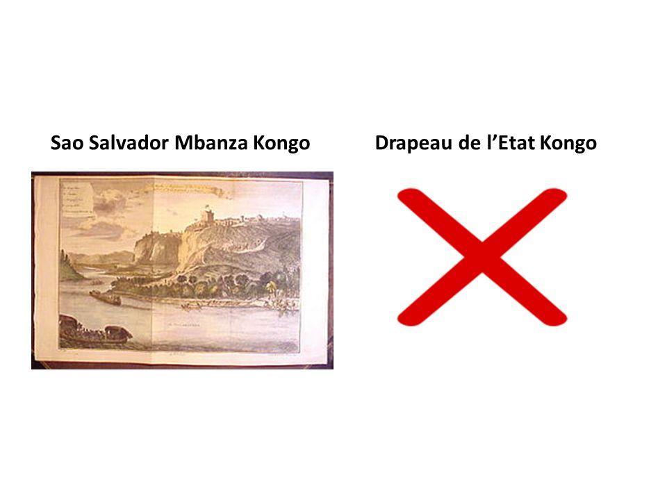 Sao Salvador Mbanza Kongo Drapeau de l'Etat Kongo