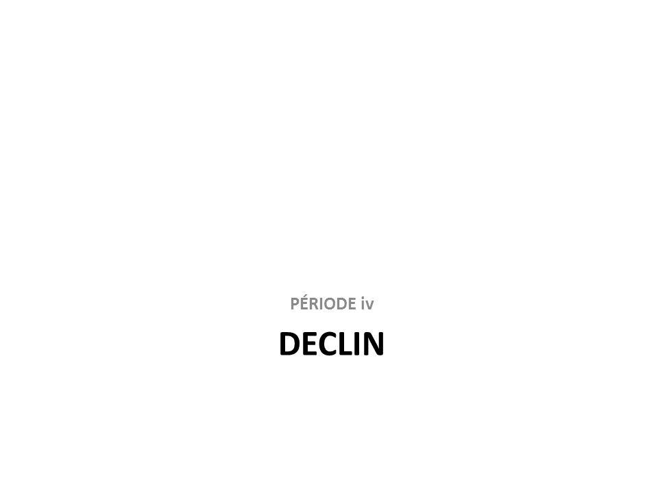 PÉRIODE iv DECLIN