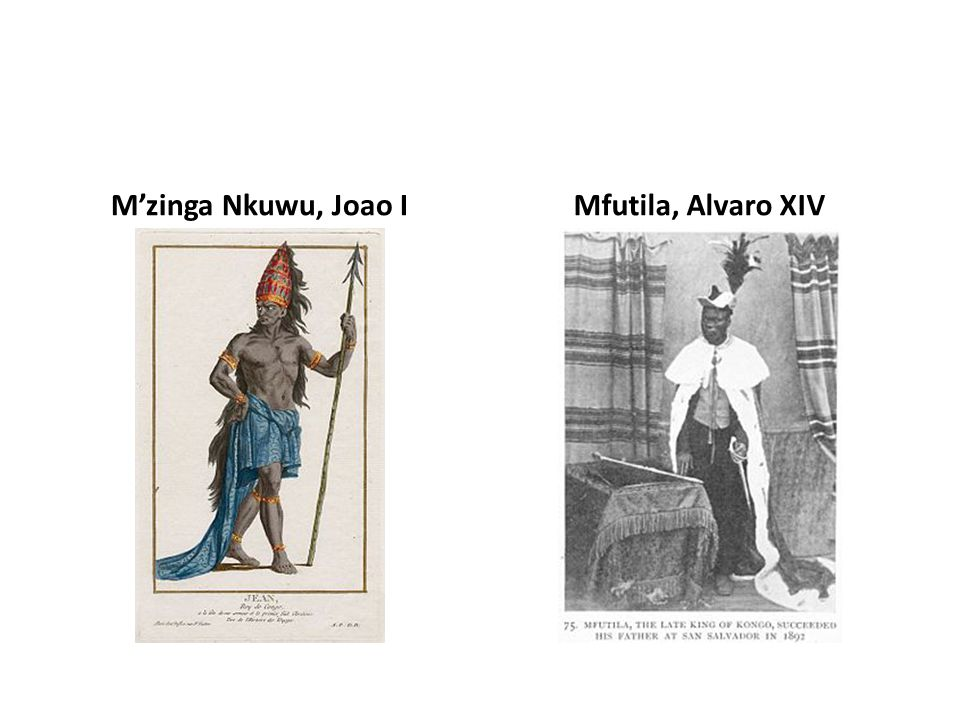 M'zinga Nkuwu, Joao I Mfutila, Alvaro XIV