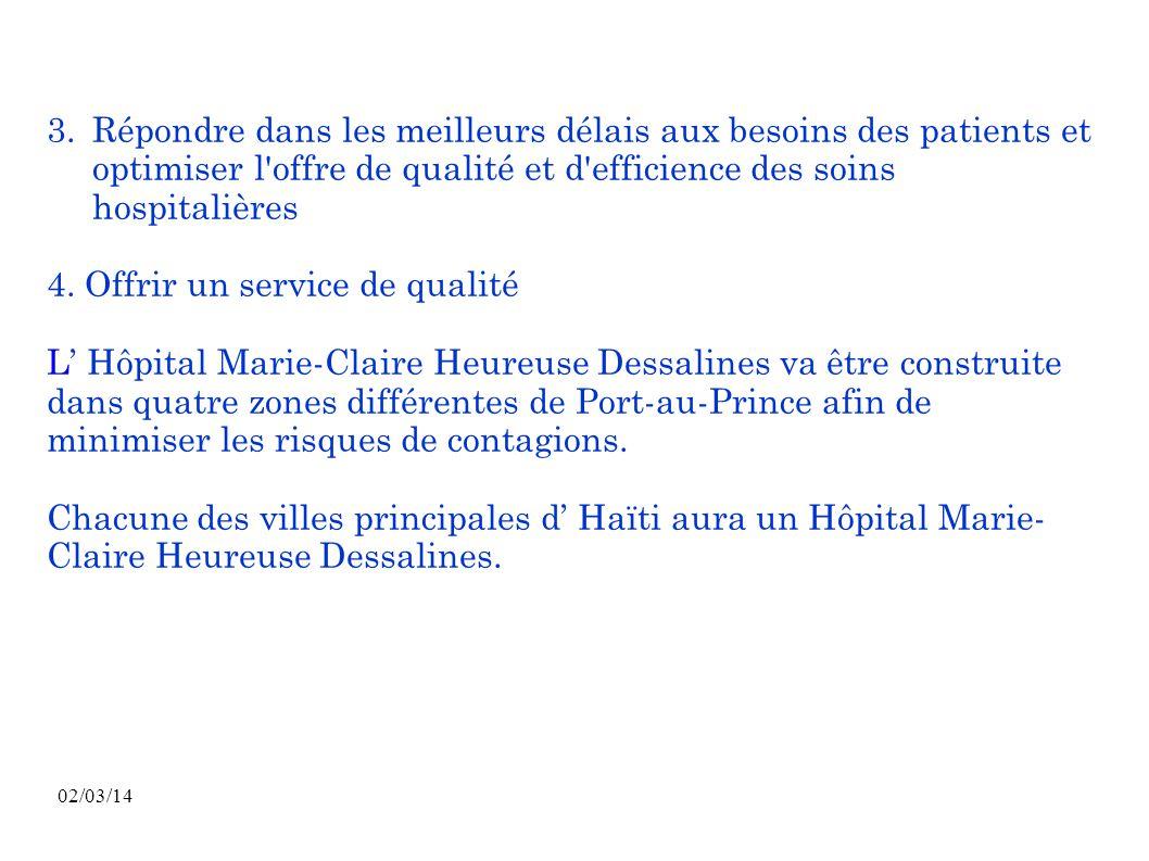4. Offrir un service de qualité