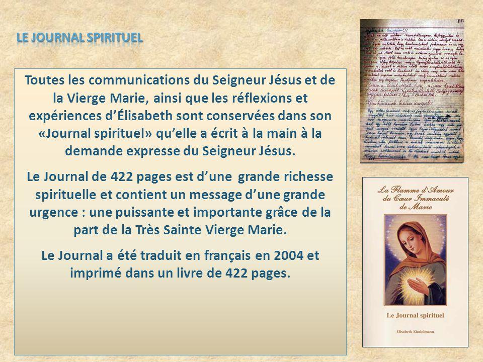 LE JOURNAL SPIRITUEL