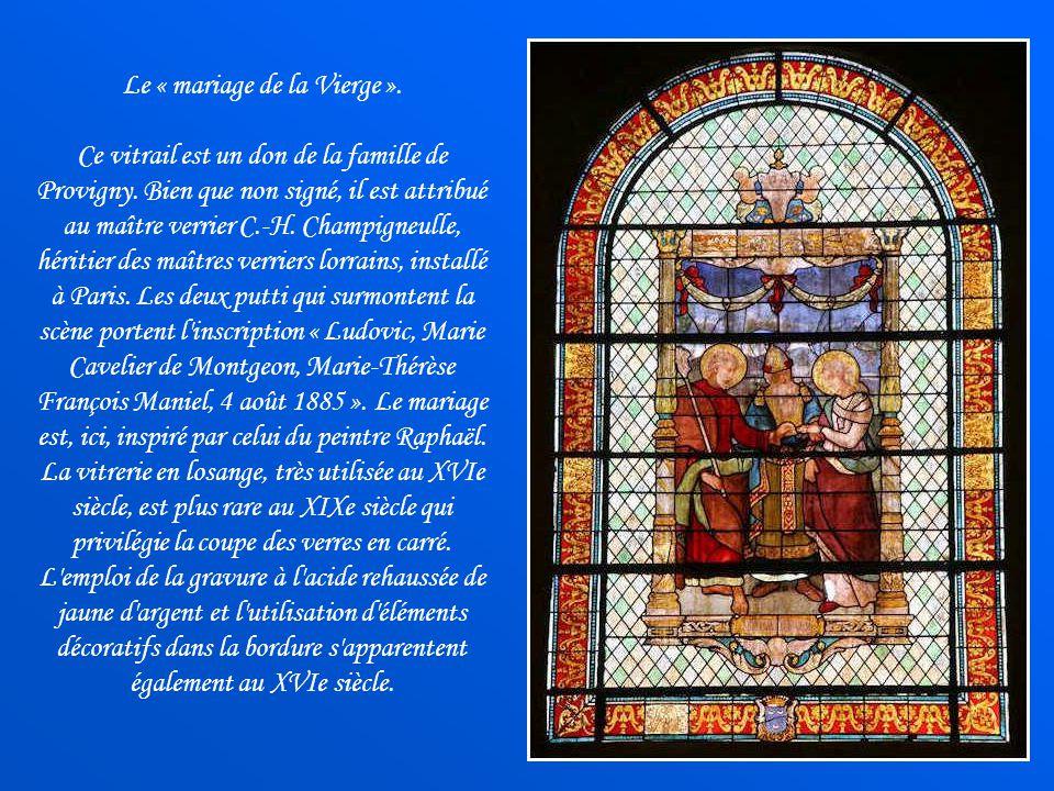 Le « mariage de la Vierge ».