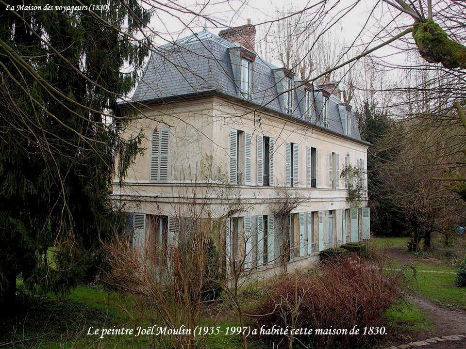 Le peintre Joël Moulin (1935-1997) a habité cette maison de 1830.