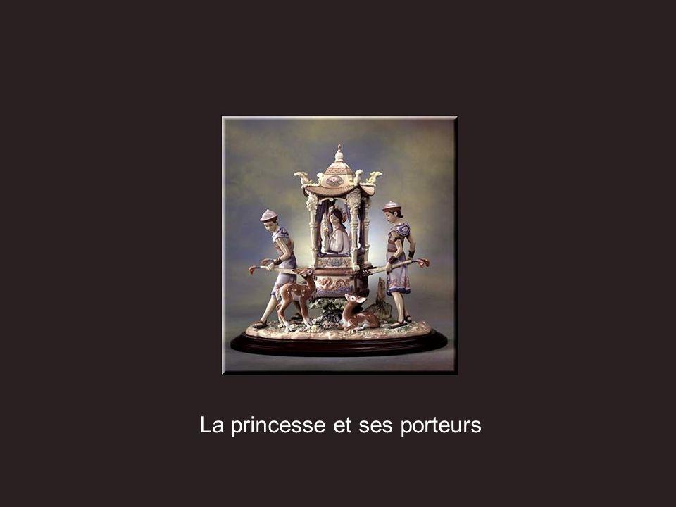 La princesse et ses porteurs