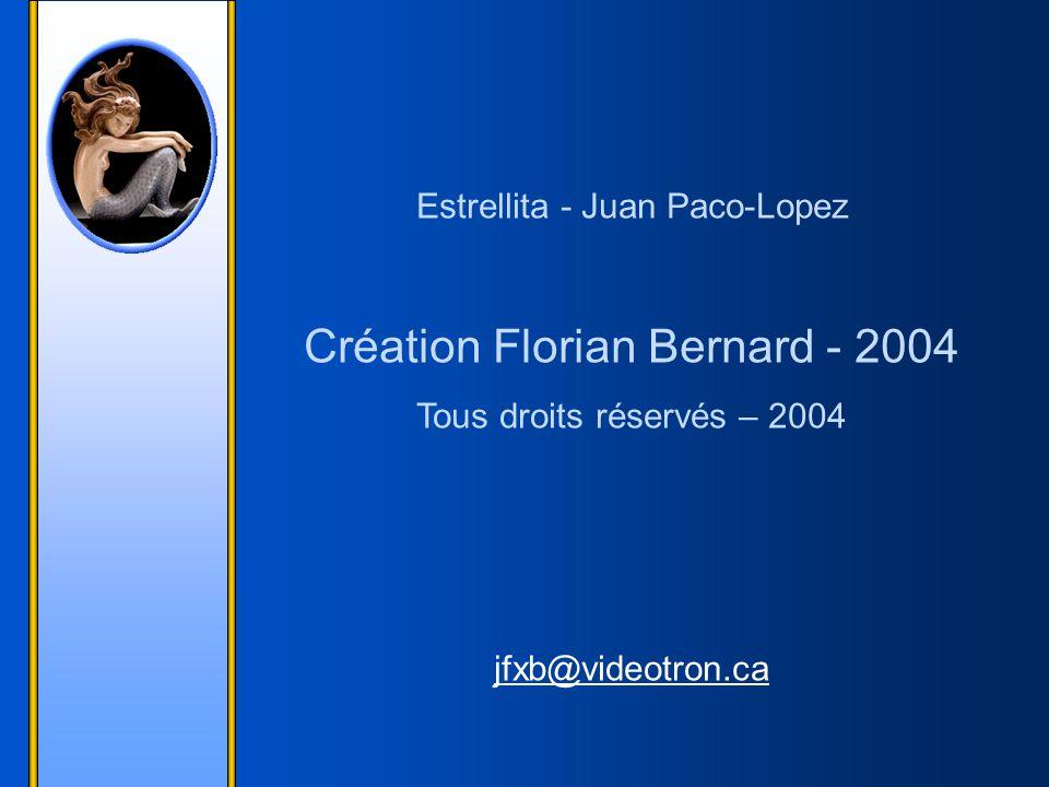 Création Florian Bernard - 2004
