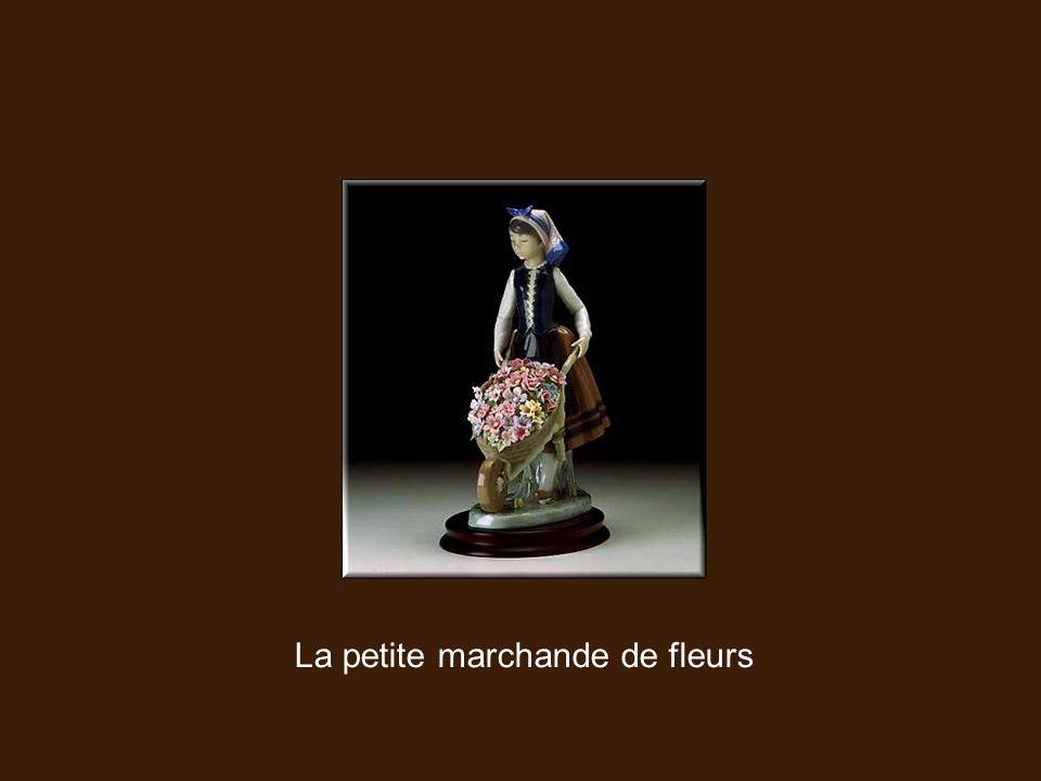 La petite marchande de fleurs