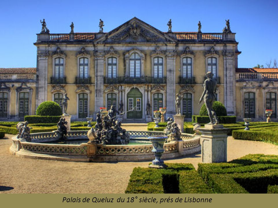 Palais de Queluz du 18° siècle, prés de Lisbonne