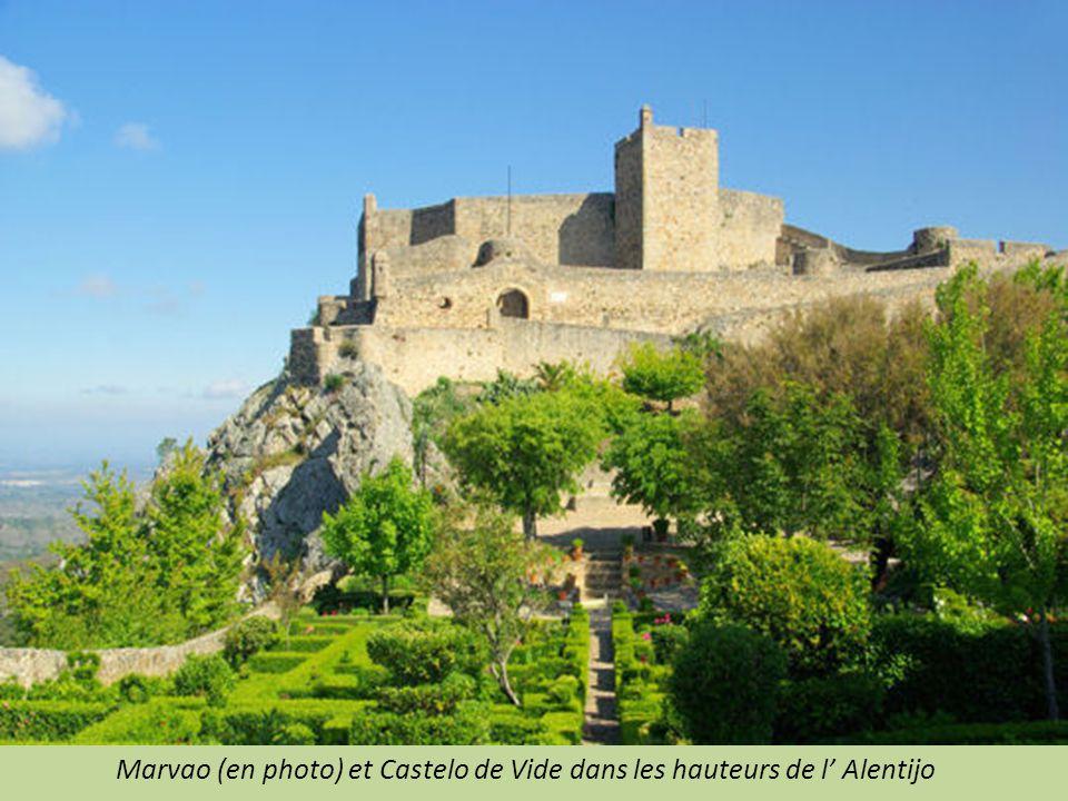 Marvao (en photo) et Castelo de Vide dans les hauteurs de l' Alentijo