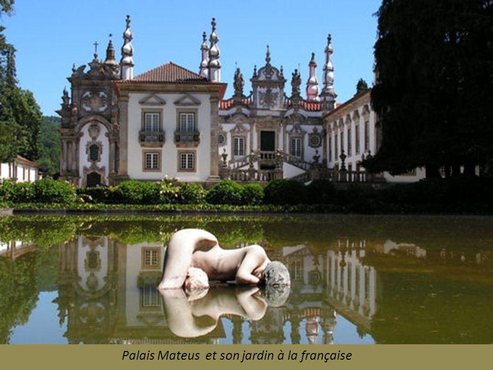 Palais Mateus et son jardin à la française