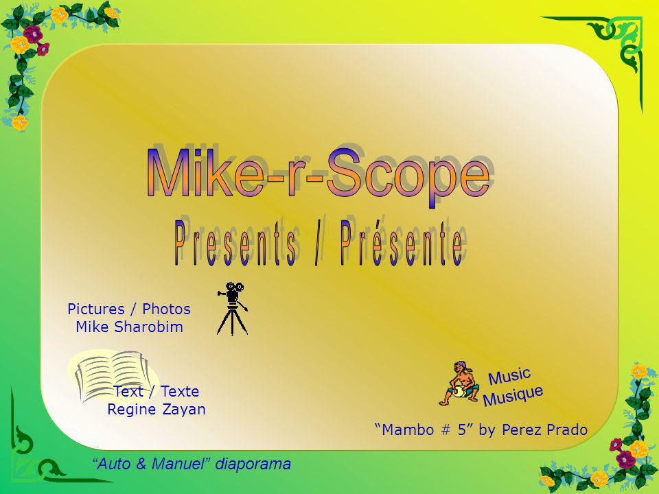 Mike-r-Scope Presents / Présente Music Musique