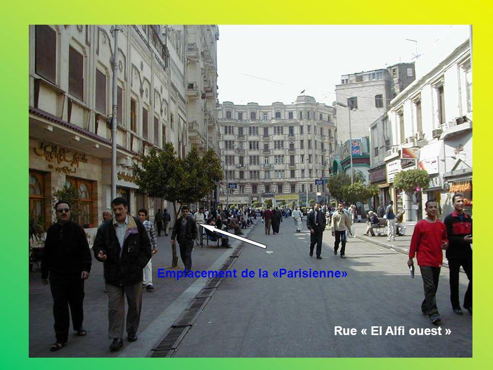 Emplacement de la «Parisienne»