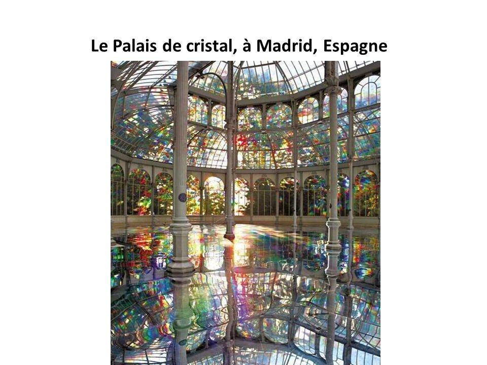 Le Palais de cristal, à Madrid, Espagne