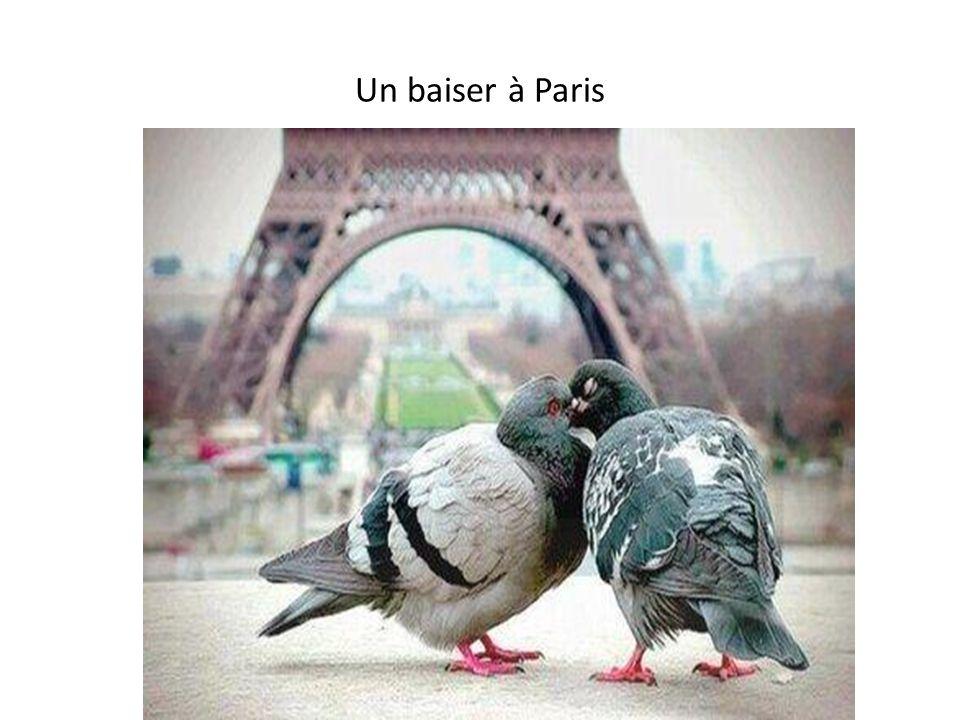 Un baiser à Paris