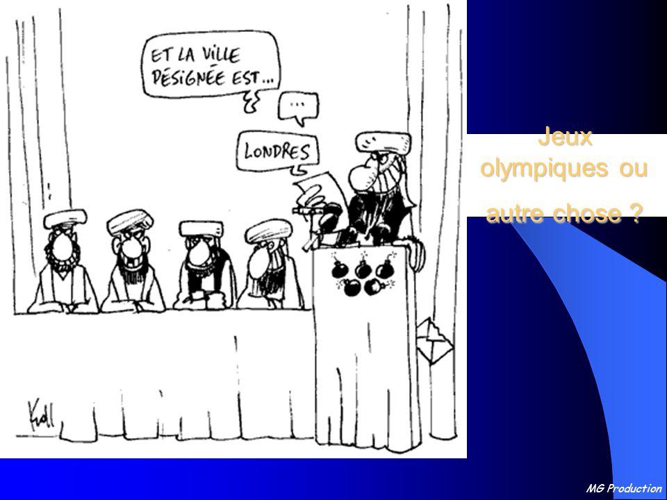 Jeux olympiques ou autre chose