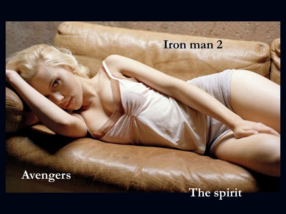 Iron man 2 Avengers The spirit