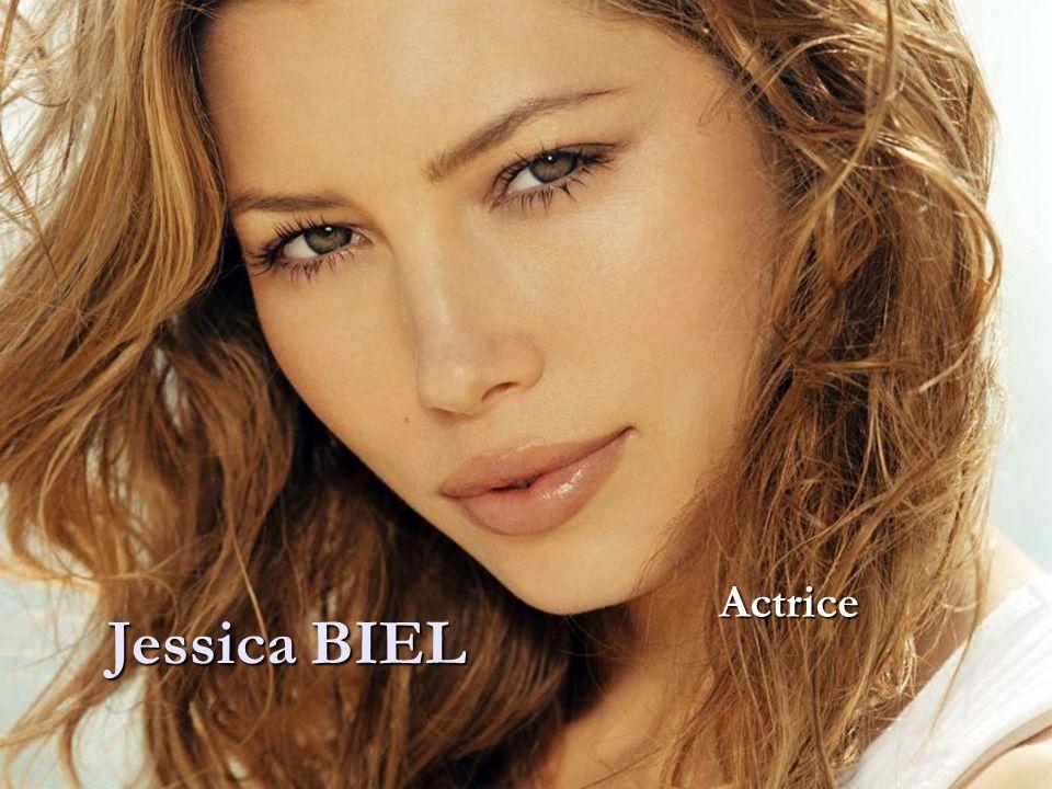 Actrice Jessica BIEL