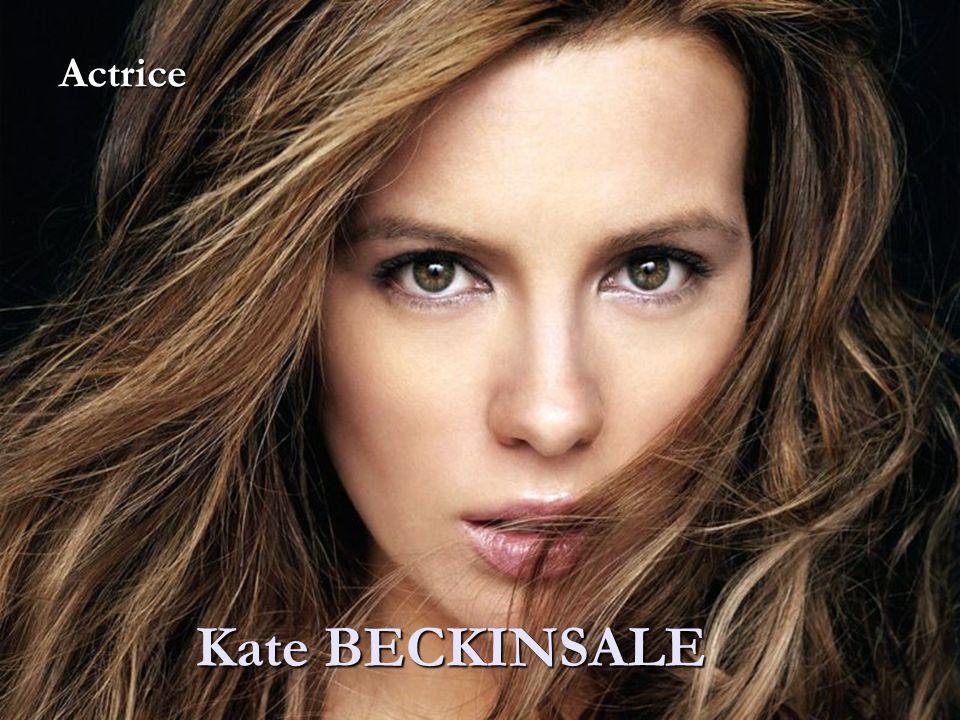 Actrice Kate BECKINSALE