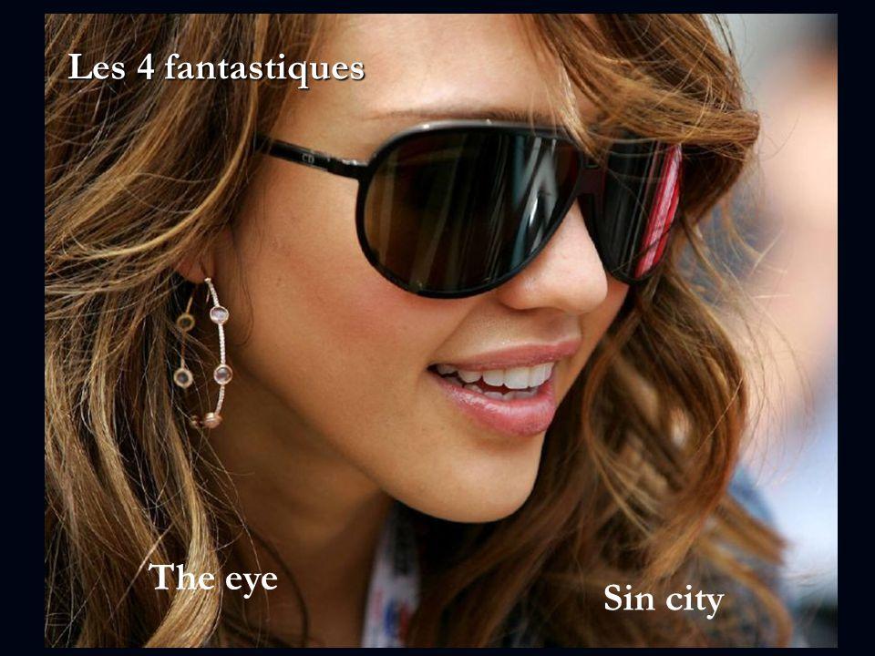 Les 4 fantastiques The eye Sin city