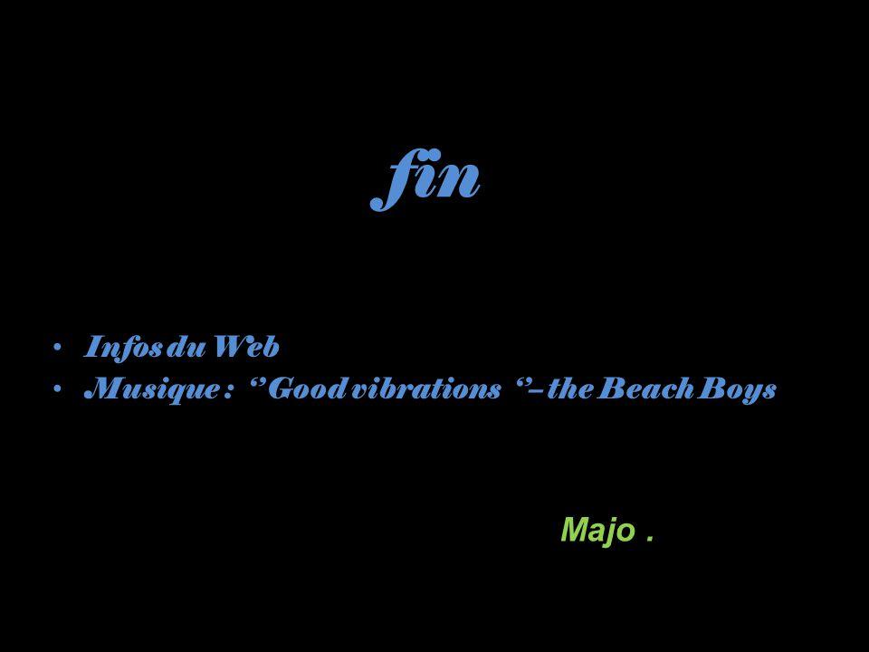 fin Infos du Web Musique : '' Good vibrations ''– the Beach Boys Majo .