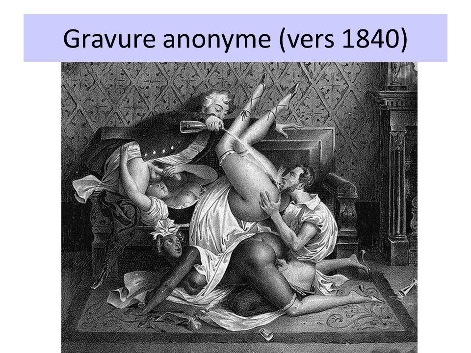Gravure anonyme (vers 1840)