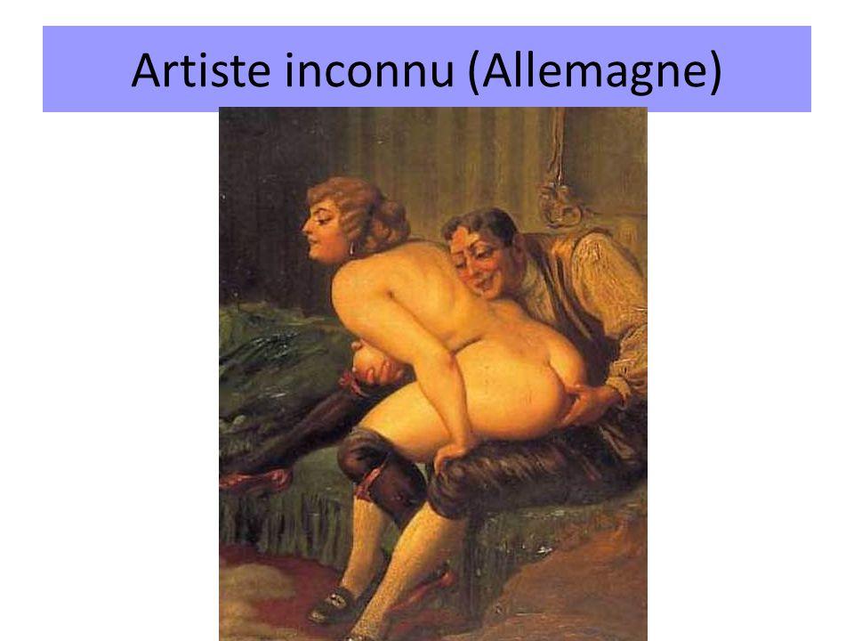Artiste inconnu (Allemagne)