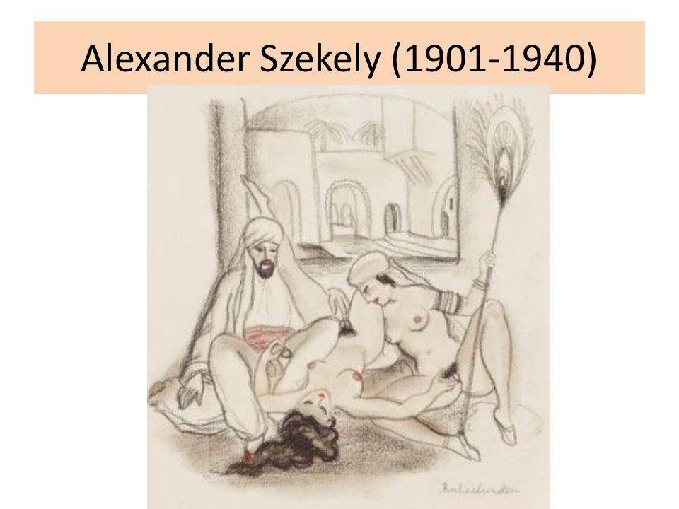 Alexander Szekely (1901-1940)