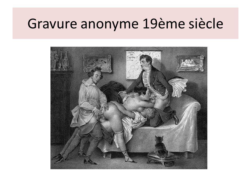 Gravure anonyme 19ème siècle