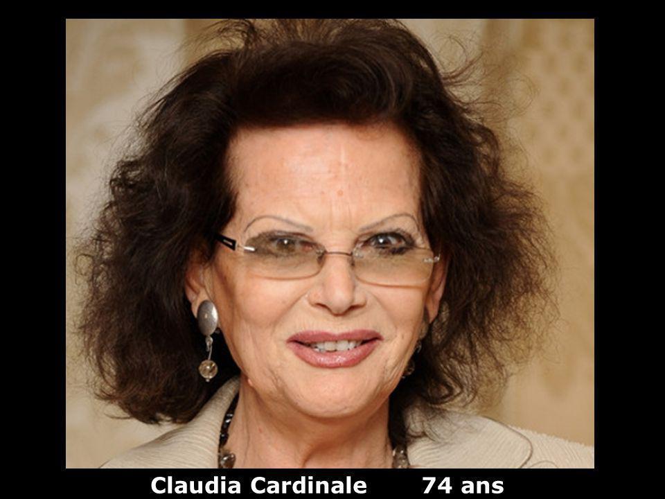 Claudia Cardinale 74 ans
