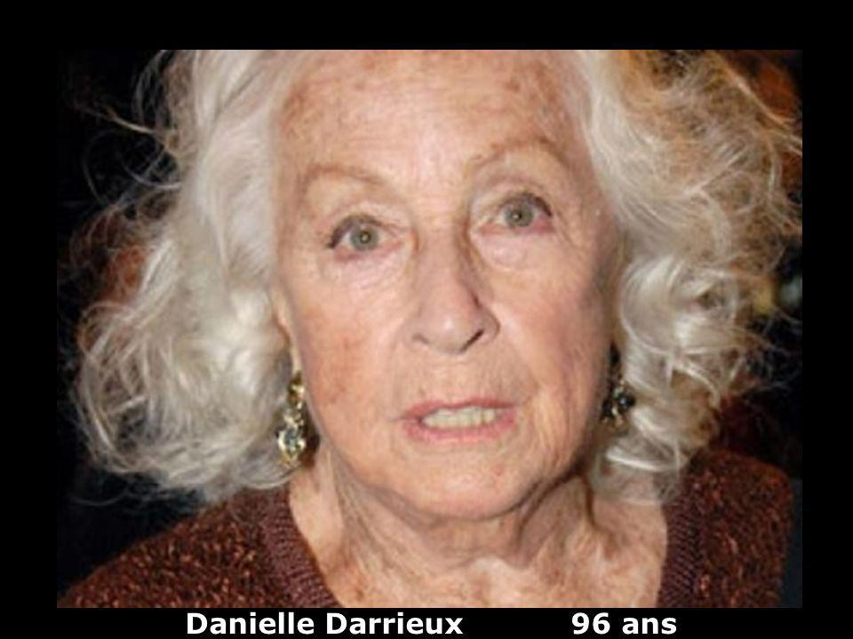 Danielle Darrieux 96 ans