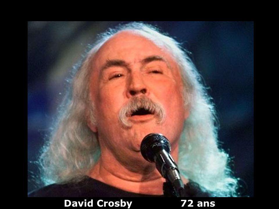 David Crosby 72 ans