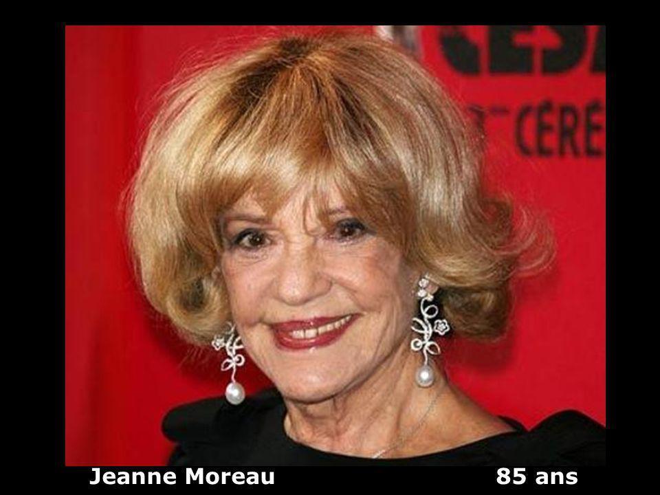 Jeanne Moreau 85 ans