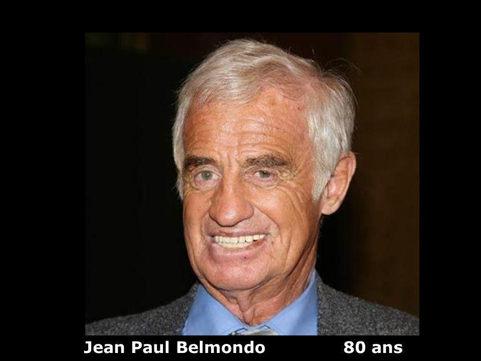 Jean Paul Belmondo 80 ans