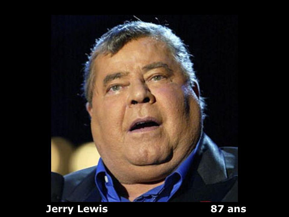 Jerry Lewis 87 ans