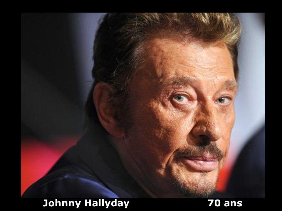 Johnny Hallyday 70 ans