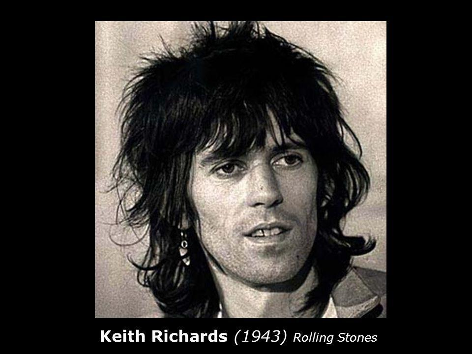 Keith Richards (1943) Rolling Stones
