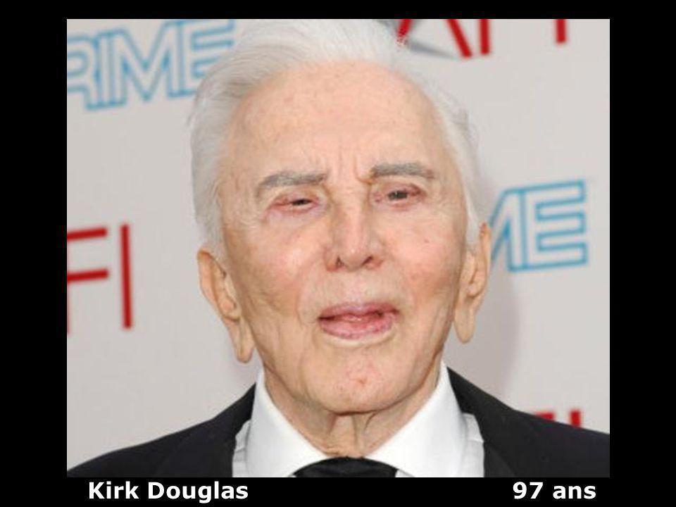 Kirk Douglas 97 ans