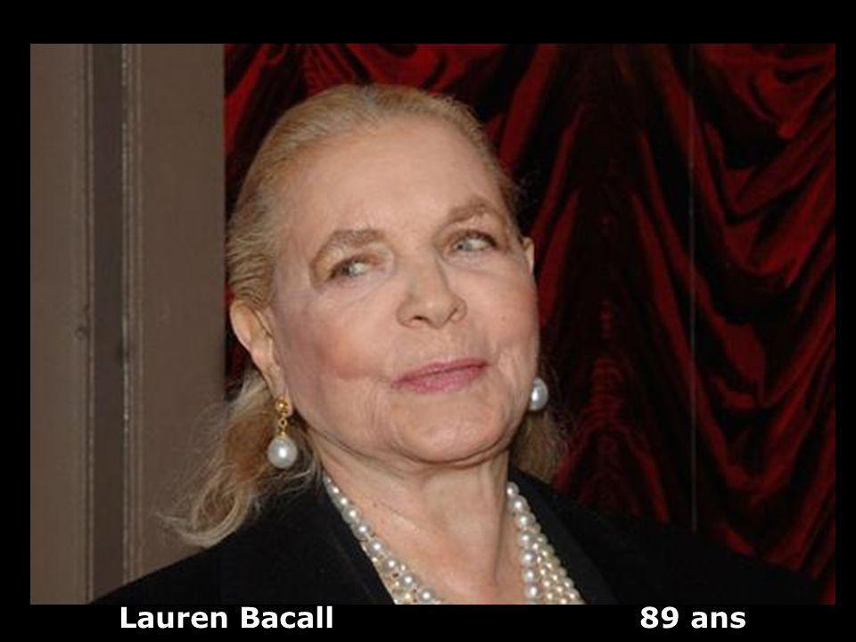 Lauren Bacall 89 ans