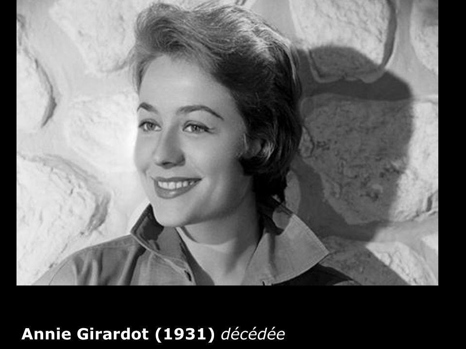 Annie Girardot (1931) décédée