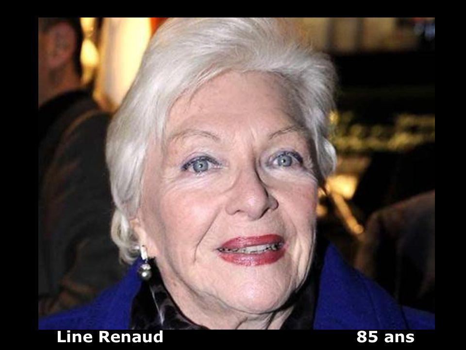 Line Renaud 85 ans