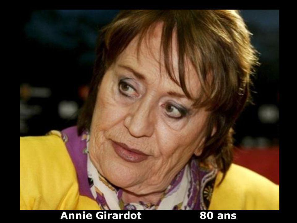 Annie Girardot 80 ans