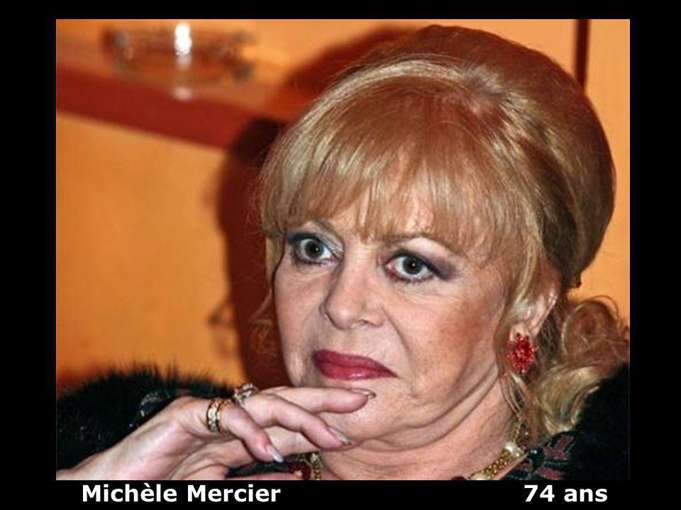 Michèle Mercier 74 ans