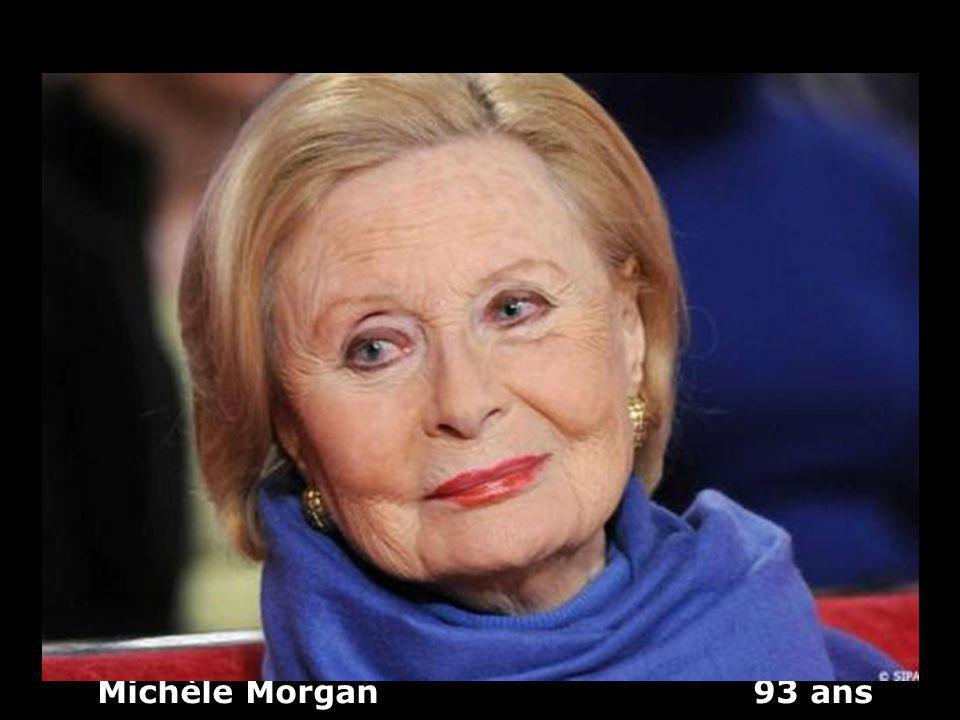 Michèle Morgan 93 ans