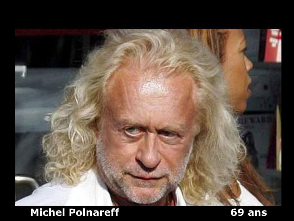 Michel Polnareff 69 ans