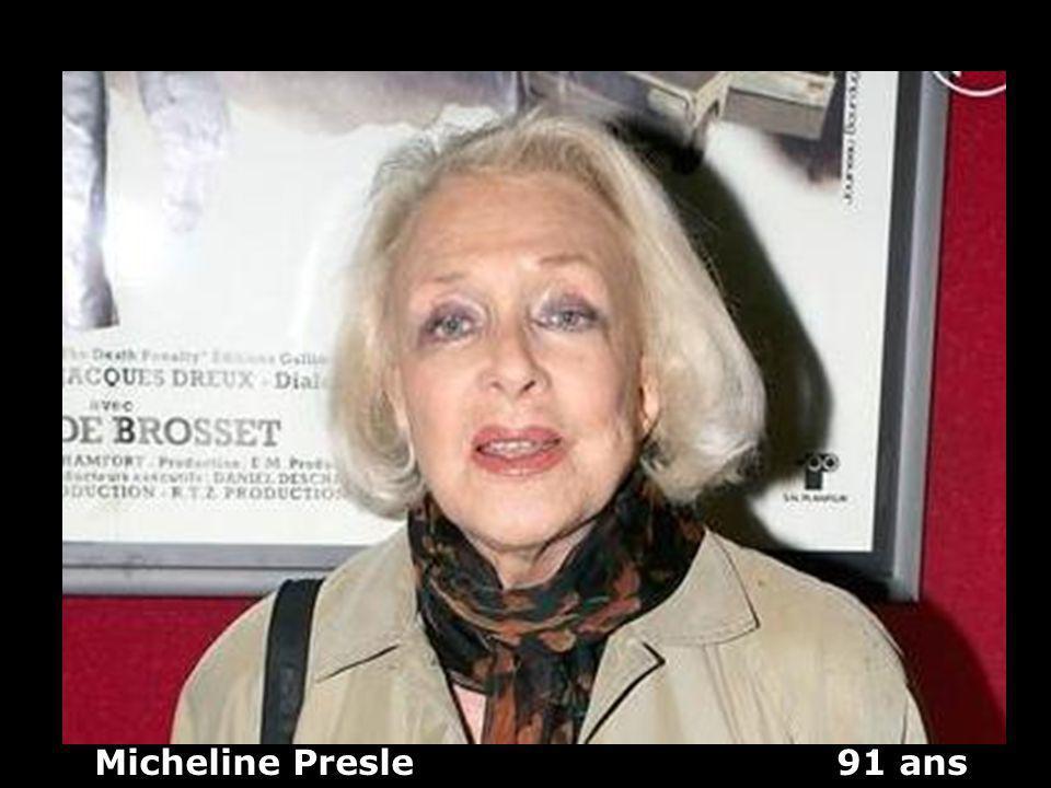 Micheline Presle 91 ans
