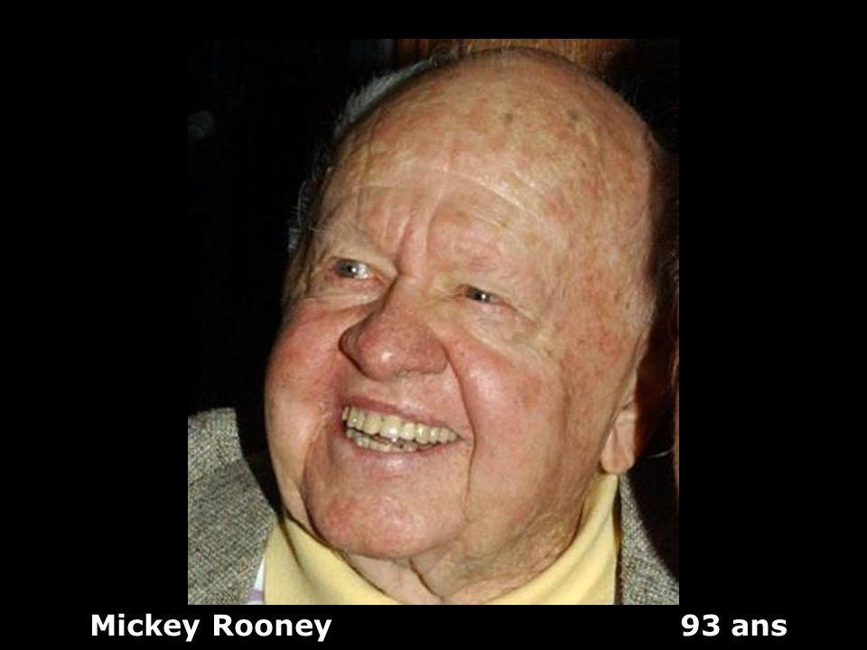 Mickey Rooney 93 ans