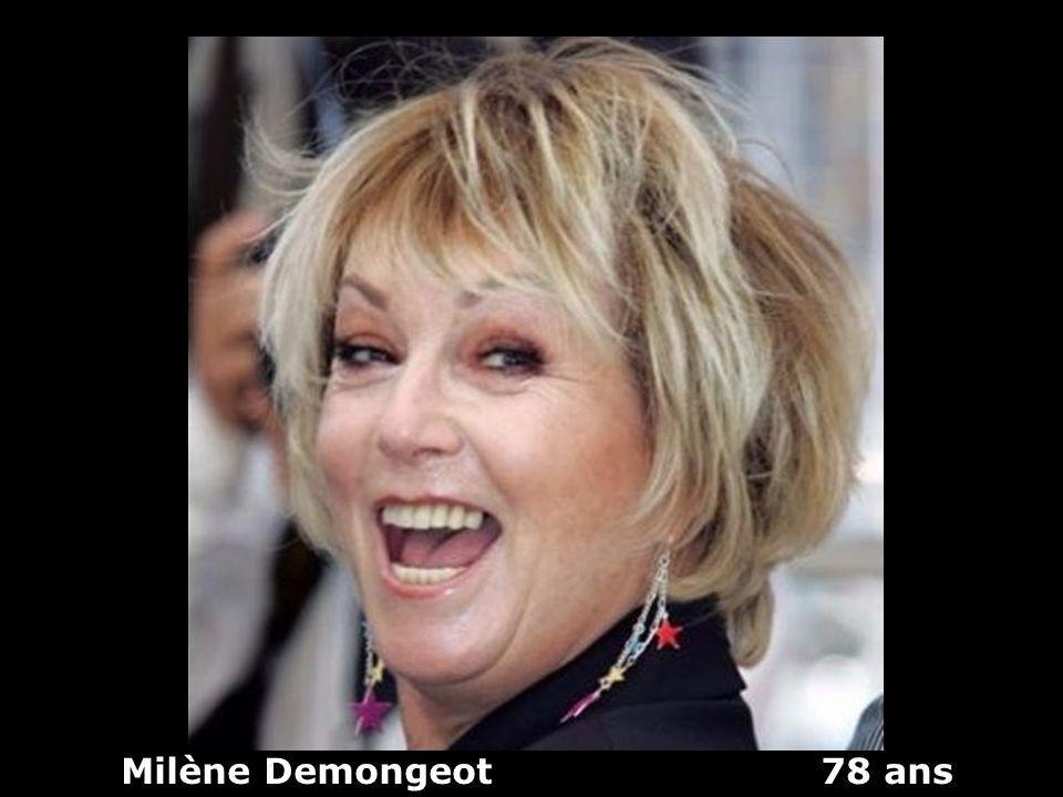 Milène Demongeot 78 ans
