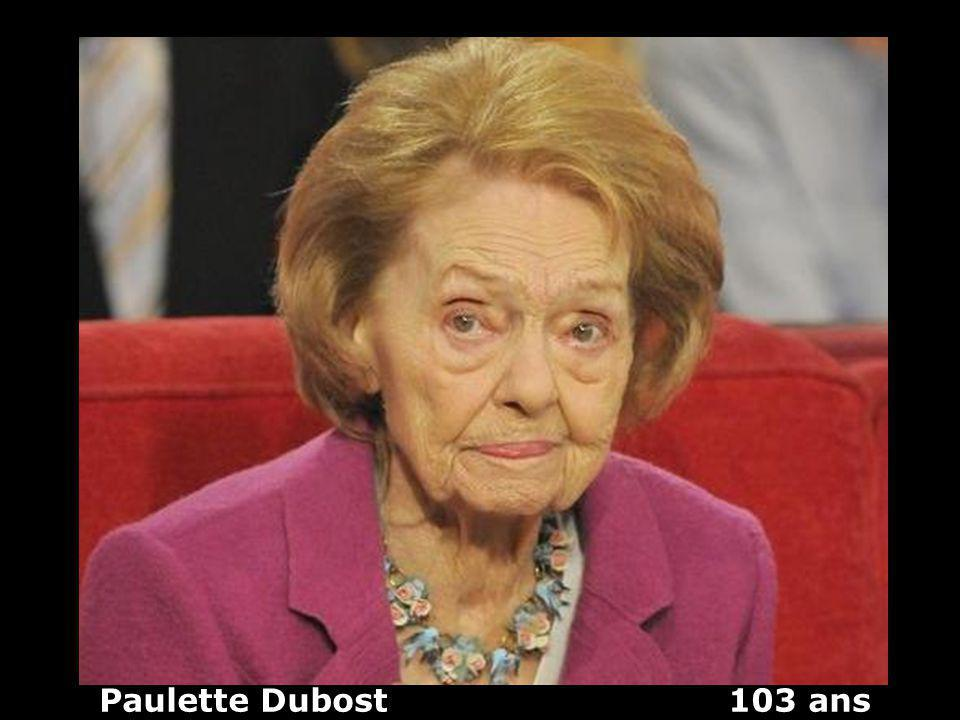 Paulette Dubost 103 ans