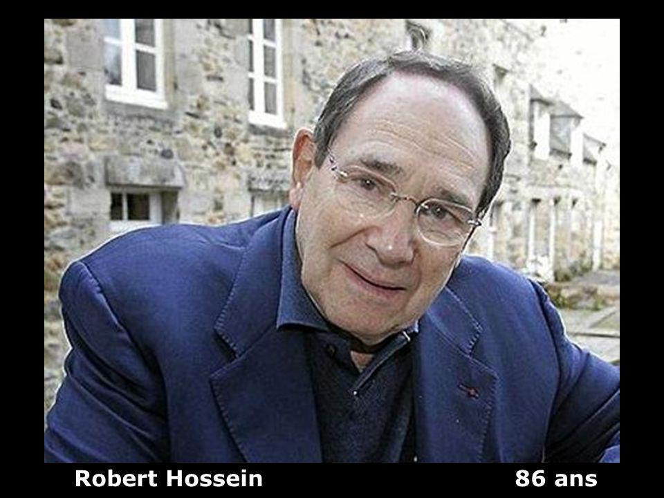 Robert Hossein 86 ans